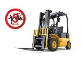 Ograniczenie prędkości wózków widłowych