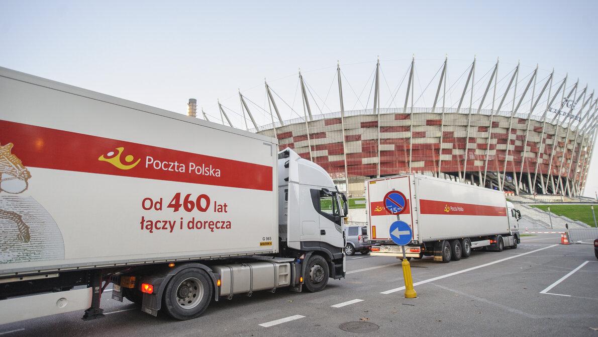 Poczta Polska wspiera budowę szpitala tymczasowego