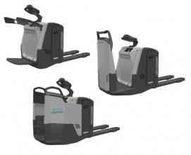 Nowy elektryczny wózek paletowy z platformą PLF/R/S