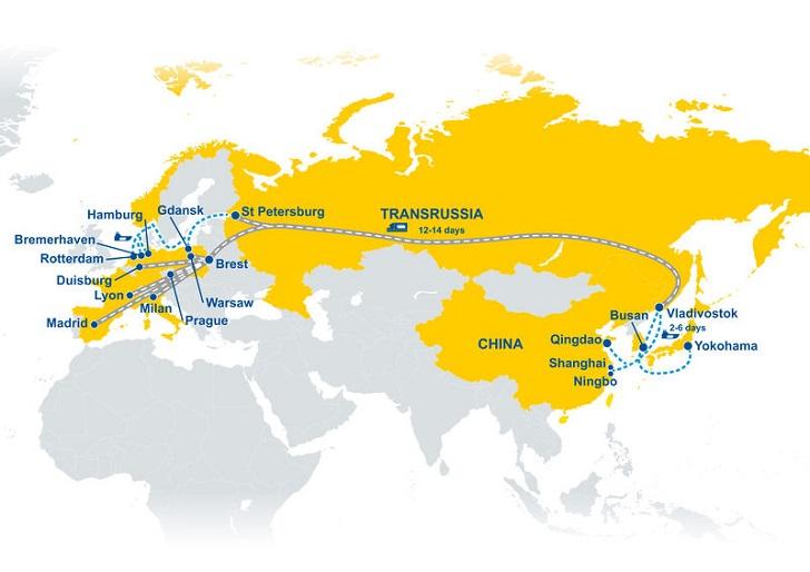 TRANSRUSSIA – nowe połącznie kolejowe GEFCO
