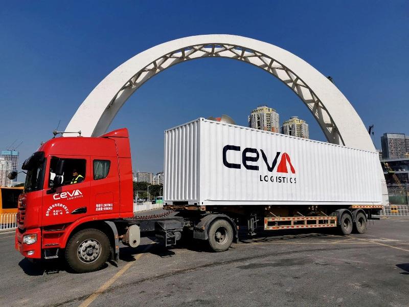 Najszybszy serwis drogowy między Chinami a Europą dla przesyłek LTL