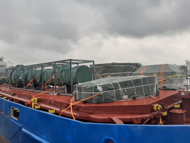 Transport  ładunków ponadgabarytowych dla rosyjskiego giganta