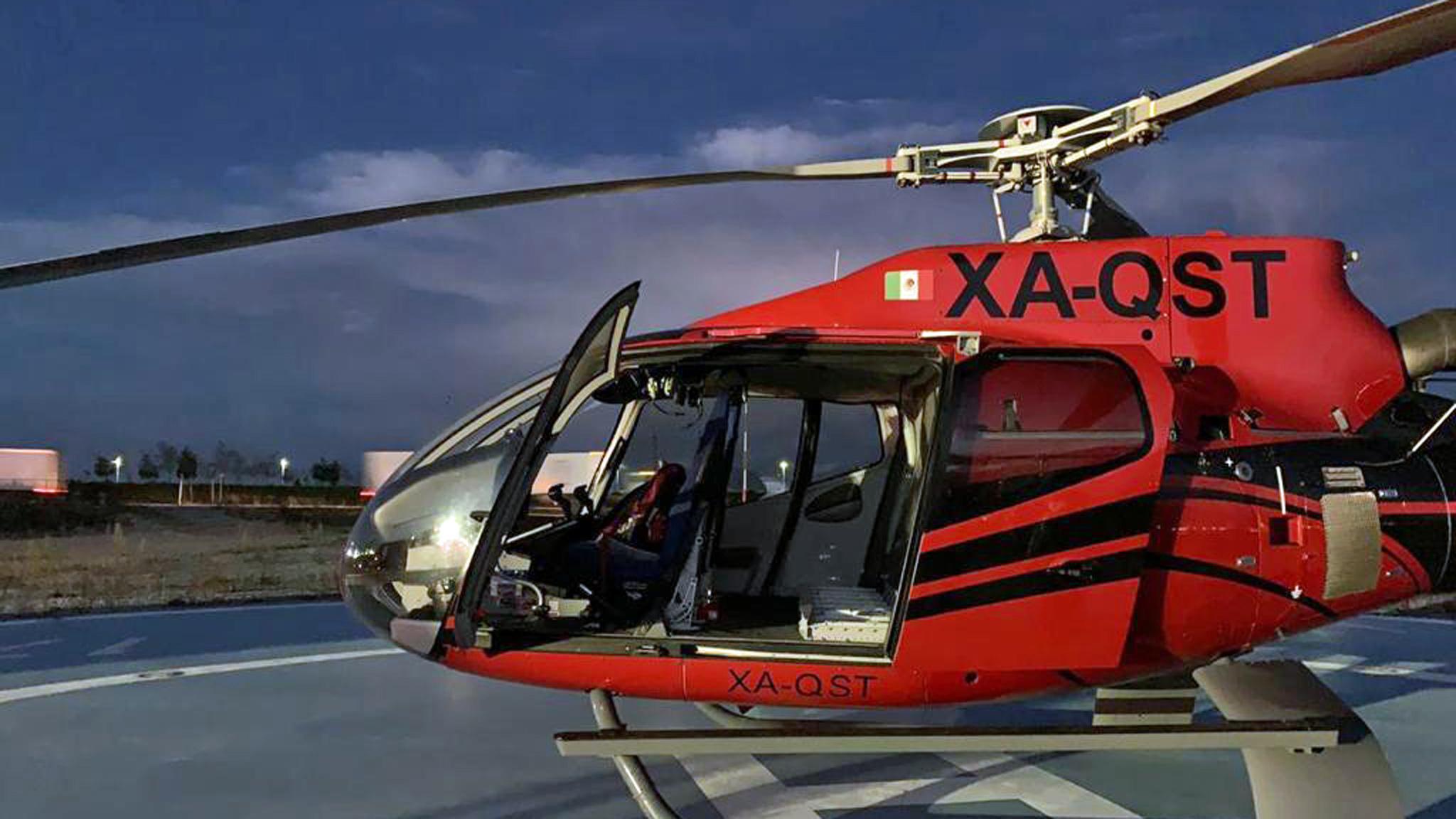 DACHSER Mexico: przesyłka dostarczona helikopterem