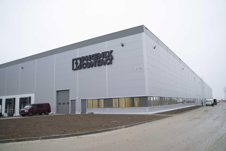 Budowa fabryki zakończona w rekordowym czasie