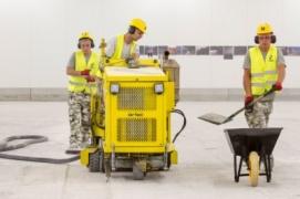 Frezowanie minidrogówkami bruzd pod dylatacje