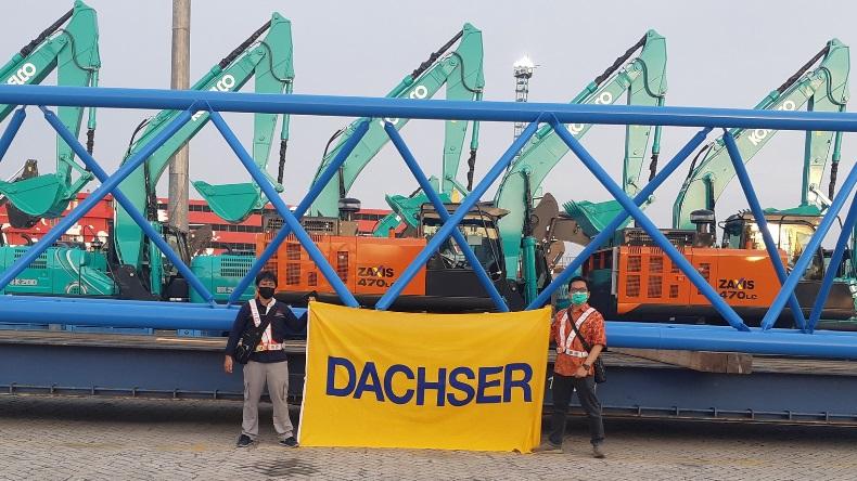 Logistyczne wsparcie serwisu w Azji