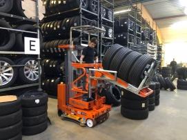 Podest ruchomy ELEVAH 75 Tires