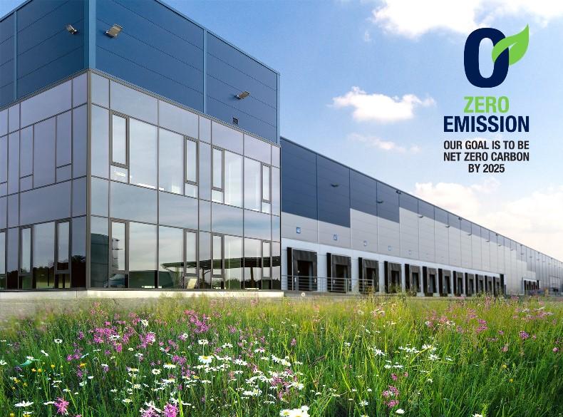 Zielona energia i neutralność emisyjna do 2025r. w obiektach Panattoni