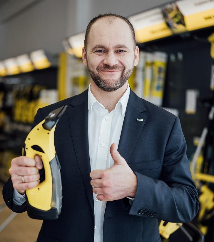 Nowy Dyrektor Zarządu Kärcher w Polsce