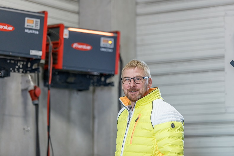 Andreas Jedamzik, dyrektor parku pojazdów w Grupie Behrens