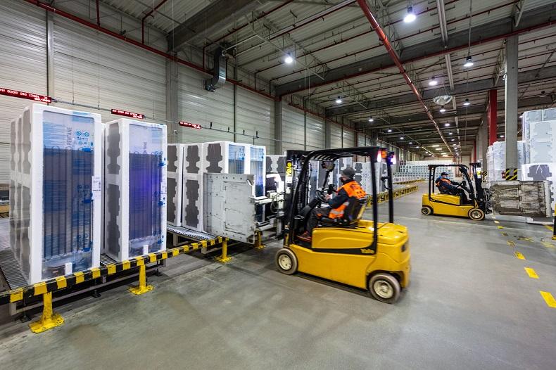 Już działa Factory Warehouse Logistics
