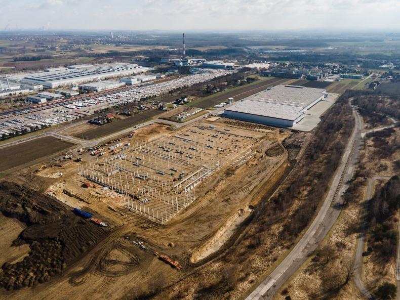Budowa centrum logistycznego w Tychach – 100 tys. mkw.