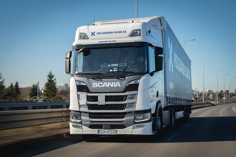 Scania Gdańsk Oliwa - nowe modele R450