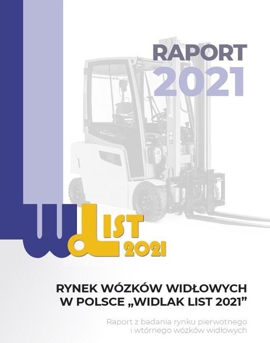 Raport o rynku wózków widłowych Widlak List 2021