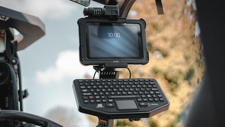 Wytrzymałe stacje dokujące RAM Mounts do tabletów Zebra