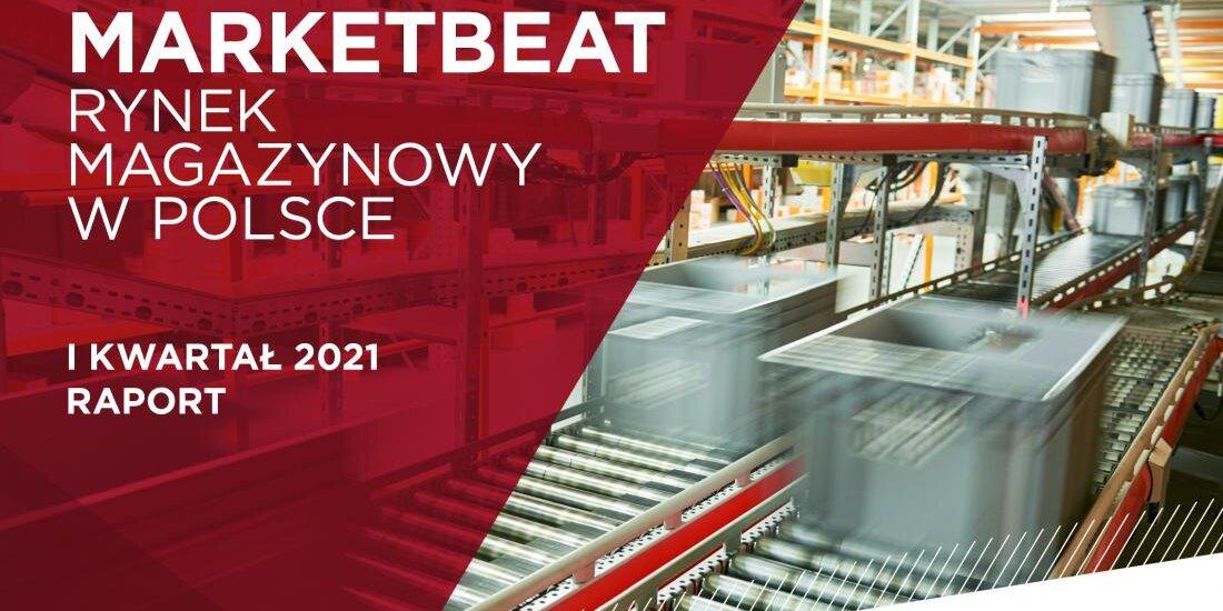 Polski rynek magazynowy - raport z I kw. 2021