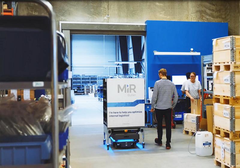 Współpraca w zakresie autonomicznych robotów mobilnych