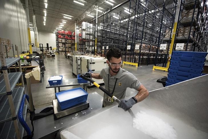 Rozwój łańcucha chłodniczego UPS Healthcare