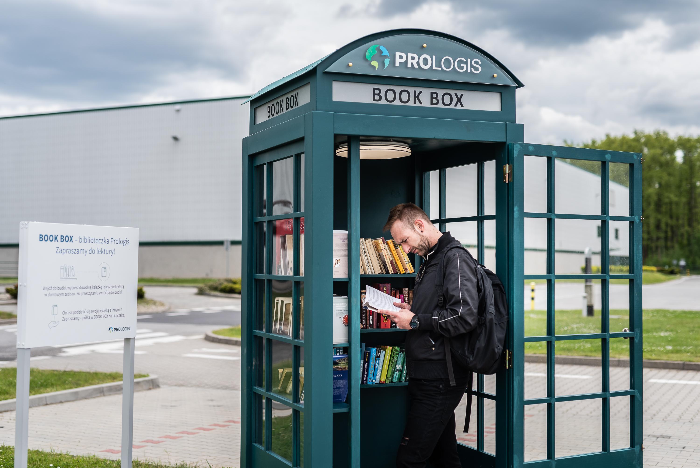 BOOK BOXY, czyli zielone budki od Prologis