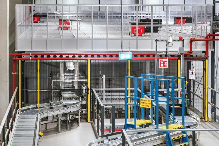 Rozwiązanie bazujące na systemie AutoStore™ Empowered by Dematic