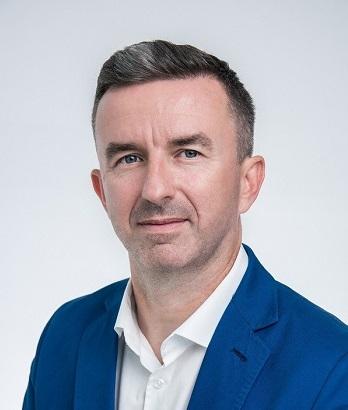 Marcin Papuga, dyrektor centrum dystrybycji w Grodzisku Mazowieckim
