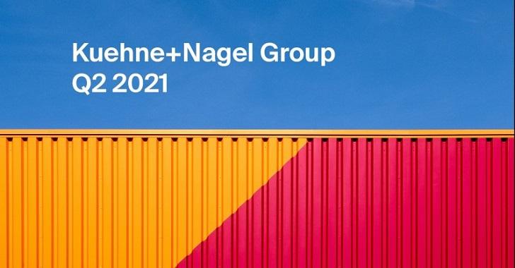 Kuehne+Nagel w pierwszej połowie 2021 r. podwaja zyski