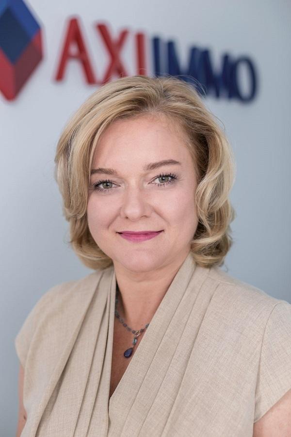 Renata Osiecka, Partner Zarządzający, AXI IMMO.