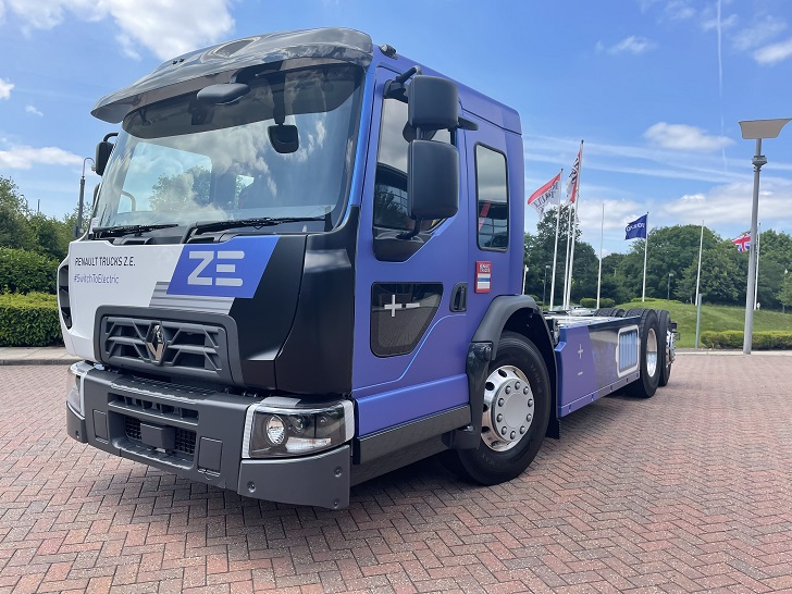 Nowy Renault Trucks D WIDE Z.E. LOW ENTRY CAB
