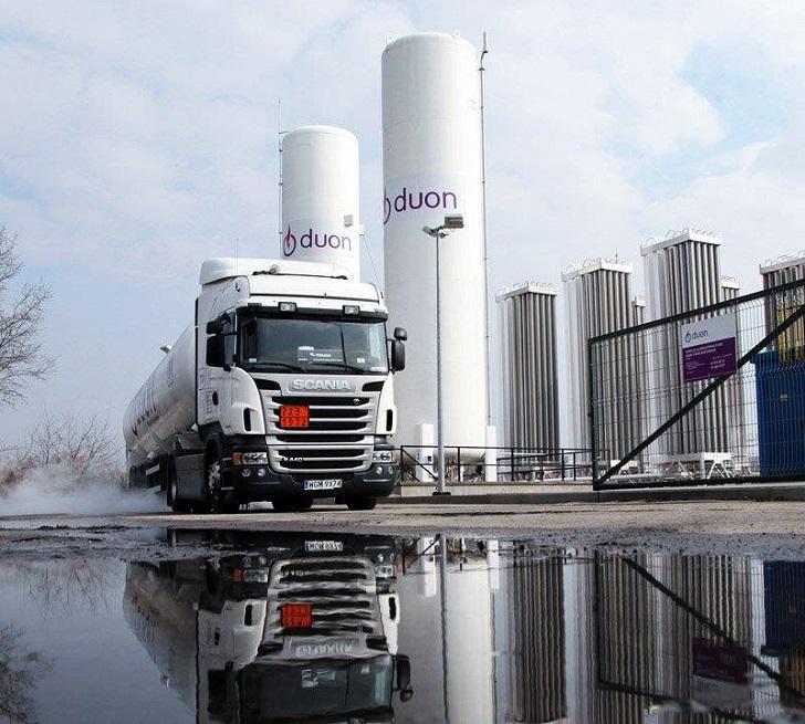 Spalinowe na zakręcie - boom na LNG