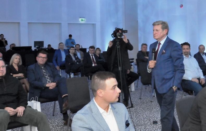 prof Leszek Balcerowicz, wśród uczestników spotkania