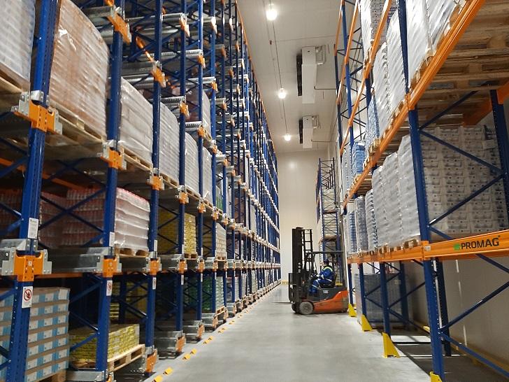 Nowoczesne technologie w centrum logistycznym grupy MLEKOVITA