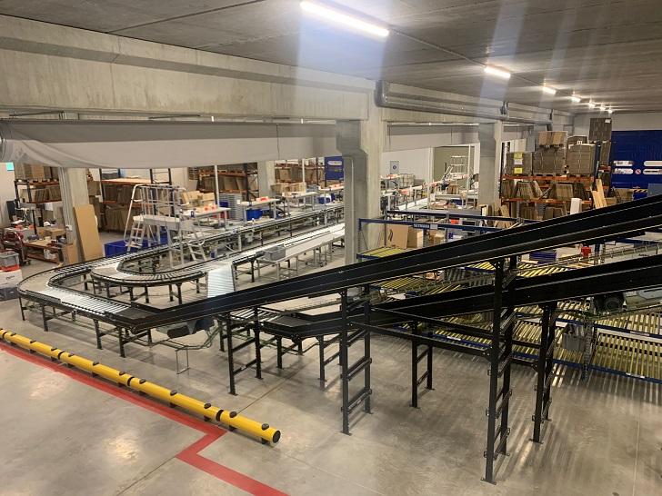 Automatyzacja centrum dystrybucji Imnasa w Hiszpanii