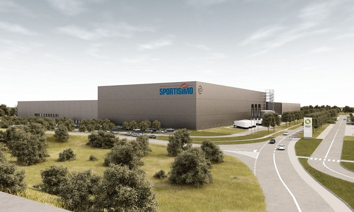 Systemy Consafe Logistics w centrum dystrybucji Sportisimo