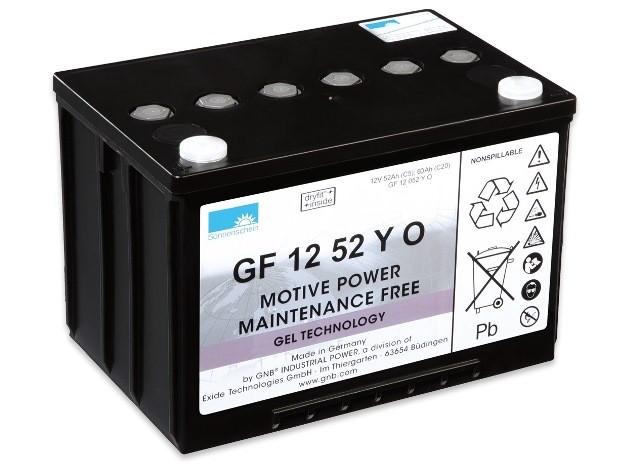 Bateria Exide Typoszereg GF-Y (dryfit® A500 Cyclic)