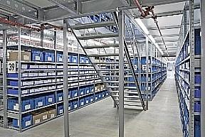 Systemy regałów półkowych SSI SCHÄFER – R3000