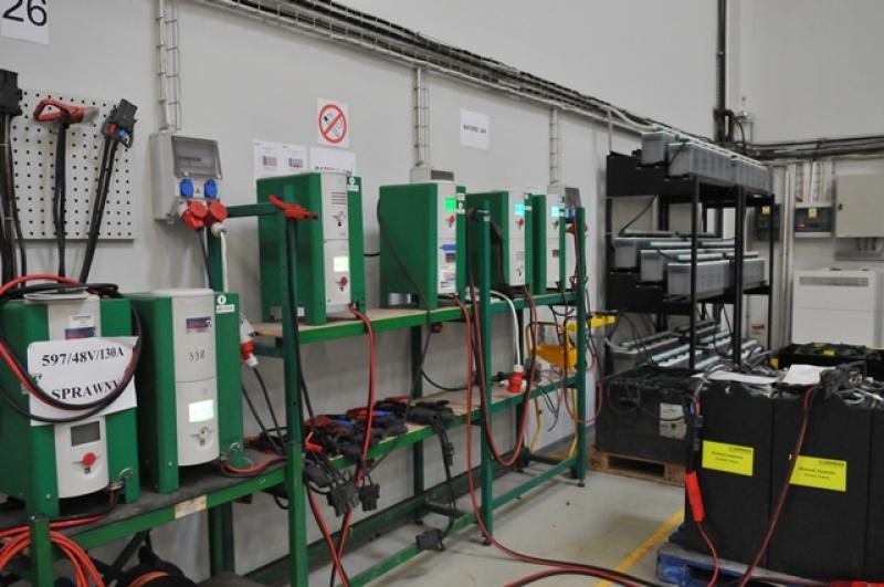 Hoppecke Baterie warsztat naprawy baterii