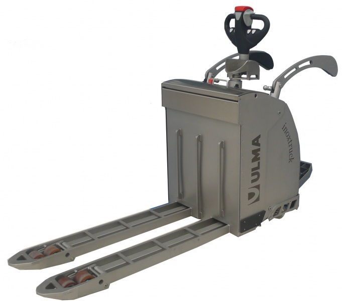 PPT Electronic Pallet Truck Platform ULMA Inoxtruck