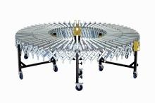 Przenośnik elastyczny grawitacyjny rolkowy
