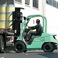 Wózek czołowy Mitsubishi FD18N