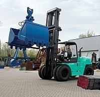 MITSUBISHI o udźwigu 6-16 ton z silnikiem diesla