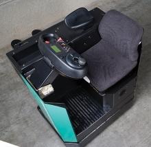 Wózek widłowy MITSUBISHI PBS20N z miejscem siedzącym dla operatora