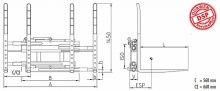 Podwójny paletyzer DPK 16-40 C (1-2 palety)