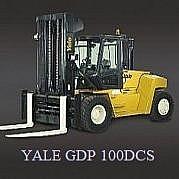 Wózki do ciężkich zadań Yale GDP 100DCS