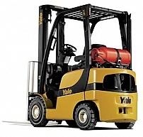 Czołowy wózek gazowy Yale GLP 18VX serii VX