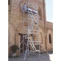 Rusztowanie/ wieże jezdne ze schodami Top system 135×180 cm