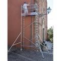 Rusztowanie / wieże jezdne TOP SYSTEM o wymiarze podstawy 75 x 180 cm