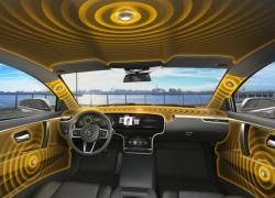 Bezgłośnikowy system car audio