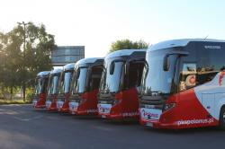 Leasingowa flota autokarów