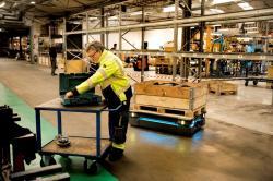 Coraz większy udział robotów w logistyce