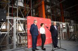 Minister przedsiębiorczości odwiedziła fabrykę Amica